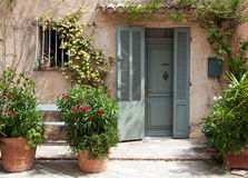 Traditional provencal home Stock Images