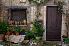 Traditional provencal home Royalty Free Stock Images