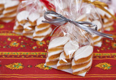 Traditional Provence sweets - Calissons d'Aix Stock Photos