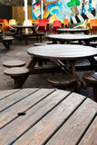 Traditional Pub Beer Garden Stock Images