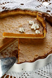 Traditional Pumpkin pie Royalty Free Stock Photo