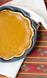 Traditional Pumpkin pie Royalty Free Stock Photography