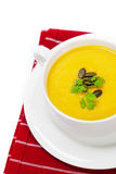 Traditional Pumpkin soup Royalty Free Stock Photos