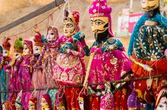 bc155aae54 Traditional Rajasthani Indian Puppets Handing From A Wall Stock Photo -  Image of costume, craft: 111967238