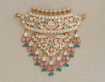 Timaniya Necklace. Traditional Rajasthani Timaniya Necklace Royalty Free Stock Image