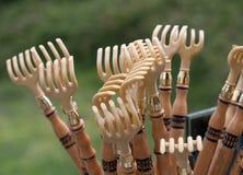 Traditional rakes of Galicia Royalty Free Stock Photography