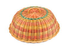 Traditional rattan weaved food cover Royalty Free Stock Image