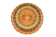 Traditional rattan weaved food cover Stock Photography