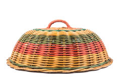 Traditional rattan weaved food cover Royalty Free Stock Photos