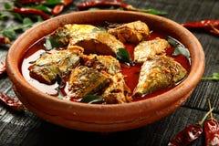 Traditional recipe Kerala fish curry