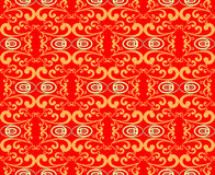 Traditional red background stock images