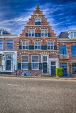Traditional Red Brick Dutch House Royalty Free Stock Image