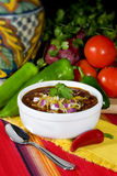 Traditional Red Chili & Beans Royalty Free Stock Images