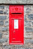 A Traditional Red Letterbox