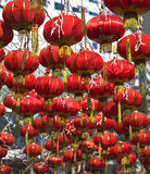 The traditional red lanterns Royalty Free Stock Image