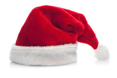 Traditional red santa claus hat Stock Photography