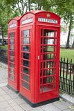 Traditional Red Telephone Box, London Royalty Free Stock Image