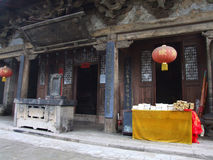 Traditional religious architecture Chinese Stock Images