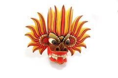 Traditional religious colorful  mask of Sri Lanka Stock Image