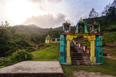 Traditional religious Indian temple in Munnar, Kerala Royalty Free Stock Photo