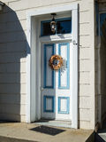 Traditional residential front door Stock Photo