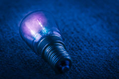 Traditional retro light bulb Royalty Free Stock Photography