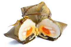 Traditional rice dumplings Royalty Free Stock Images