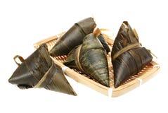 Traditional rice dumplings Stock Photos