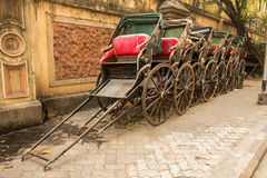 Traditional rickshaw Royalty Free Stock Photography