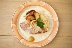 Traditional roast pork Stock Photo