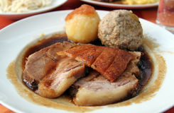 Traditional Roast Pork Stock Images