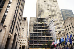 Rockefeller Center Christmans Tree Manhattan New-York NY Stock Photography