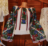 Traditional Romanian Blouse Royalty Free Stock Photography