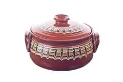 Traditional Romanian ceramic pot Stock Photos