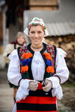 Traditional romanian clothing Royalty Free Stock Photos