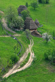 Traditional romanian cottage Stock Photo