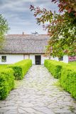 Traditional Romanian country house in Transylvania Stock Photo