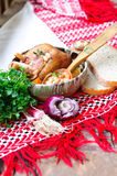 Traditional romanian dish Stock Photos