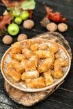 Traditional Romanian dumplings Stock Image