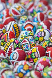 Traditional Romanian Easter eggs Stock Photo