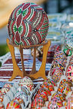 Traditional Romanian Easter eggs, painted and decorated Stock Photography