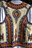 Traditional Romanian folk costume.Detail 32 Stock Photo