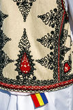 Traditional Romanian folk costume.Detail 35 Stock Images