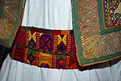 Traditional Romanian folk costume.Detail 13 Stock Photography