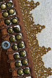 Traditional Romanian folk costume.Detail 31 Royalty Free Stock Image