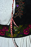 Traditional Romanian folk costume.Detail 9 Royalty Free Stock Images