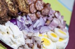 Traditional romanian food Stock Photo