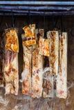 Traditional romanian ham Stock Photos