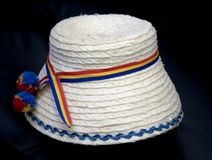 Traditional romanian hat. From Maramures Country Royalty Free Stock Images