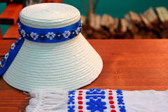 Traditional romanian hats Stock Images